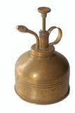 Antique brass sprayer Stock Image