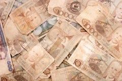 Antique Brazilian bills Royalty Free Stock Photography