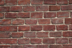 Antique brick wall architectural background texture Stock Image