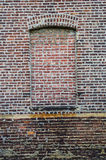 Antique Brick Wall Stock Photography