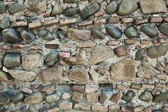 Antique  brick wall Royalty Free Stock Photo