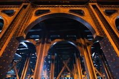 Antique bridge construction Royalty Free Stock Images