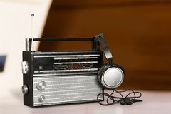 Antique broadcasting Stock Images