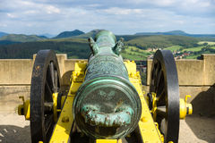 Antique bronze cannon Royalty Free Stock Photo