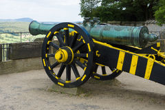 Antique bronze cannon Stock Photography