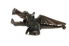 Antique Bronze Dragon Statue Stock Photo