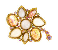 Antique brooch Royalty Free Stock Photo