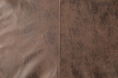 Antique Brown Leather Texture Background Stock Photos