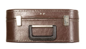Antique brown trunk Royalty Free Stock Photography