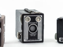 Antique Brownie Camera Royalty Free Stock Images