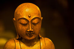 Antique Buddha Stock Image