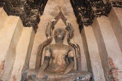Antique buddha Stock Photography