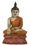 Antique Buddha Image - Isolated  Stock Images
