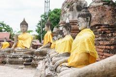 Antique buddha statue Royalty Free Stock Image