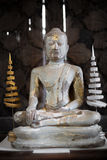 The Antique Buddha Statue - Surat Thani, Thailand Royalty Free Stock Photography