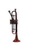 Antique Bugle Stock Image
