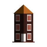 Antique building architecture Royalty Free Stock Photo