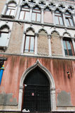 Antique building in the city of venice Stock Photo