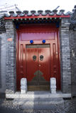 The antique building gate building. Chinese antique building gate building Stock Image