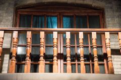 The antique building Stock Photography