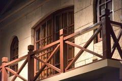 The antique building Stock Photos