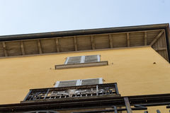 Antique buildings in side street #3. Client Support Engineer Royalty Free Stock Photos