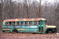 Antique Bus Stock Photo