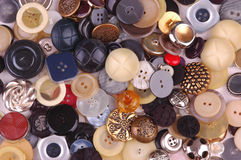Antique Buttons Royalty Free Stock Photography