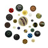 Antique buttons Royalty Free Stock Image