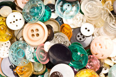 Antique buttons background Royalty Free Stock Image