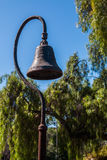 Antique California Mission Bell on Pole Royalty Free Stock Photos