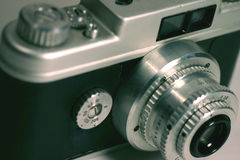 Antique Camera Royalty Free Stock Photo