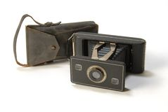 Antique camera. Stock Image