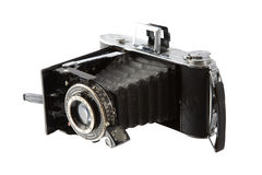 Antique camera. Royalty Free Stock Photography