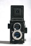Antique camera. This is a antique 120 camerra Stock Photography