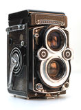 Antique Camera Stock Photo