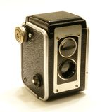 Antique Camera. Picture of the antique camera kodak Duaflex 2 Royalty Free Stock Photo