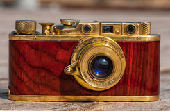An antique camera Royalty Free Stock Image