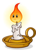 Antique Candle Stick Cartoon Character Stock Photos