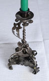 Antique candlestick Stock Images