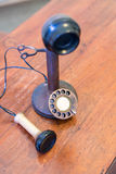 Antique Candlestick Telephone Royalty Free Stock Image