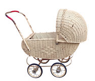 Antique Cane Pram Stock Images