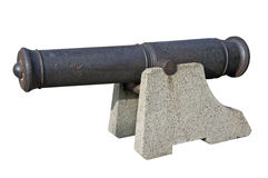 Antique cannon Royalty Free Stock Photo