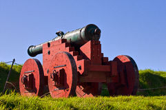 Antique cannon in grounds of Akershus Fortress. Antique cannon in grounds Akershus Fortress Oslo  Norway Stock Images