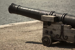 Antique cannon Stock Photography