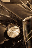 An antique car Royalty Free Stock Photo