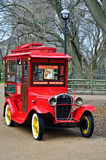 Antique car. An antique car used as a popcorn stand at the Lincoln Zoo in Chicago, Illinois Royalty Free Stock Photo