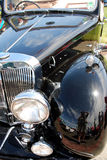Antique Car. Shiny surfaces of an antique car Royalty Free Stock Images