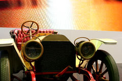 Antique car. Shot of antique car in a car show. No trademark shown Stock Photos