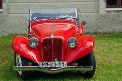 Antique car Aero Royalty Free Stock Photos